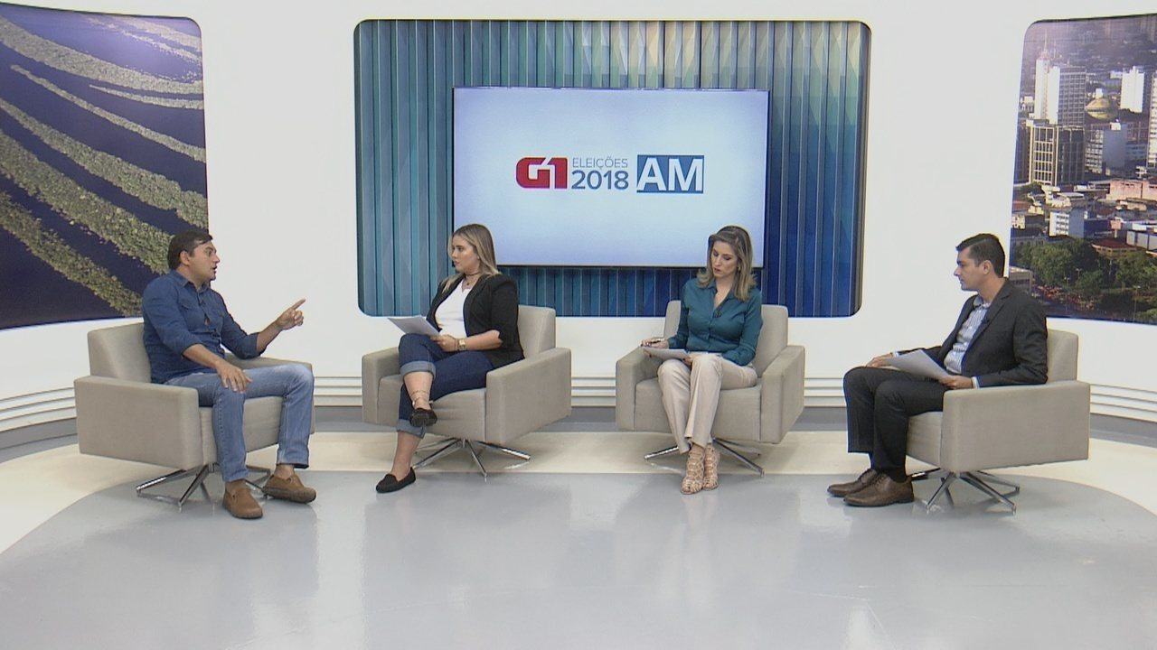 G1 entrevista candidato Wilson Lima