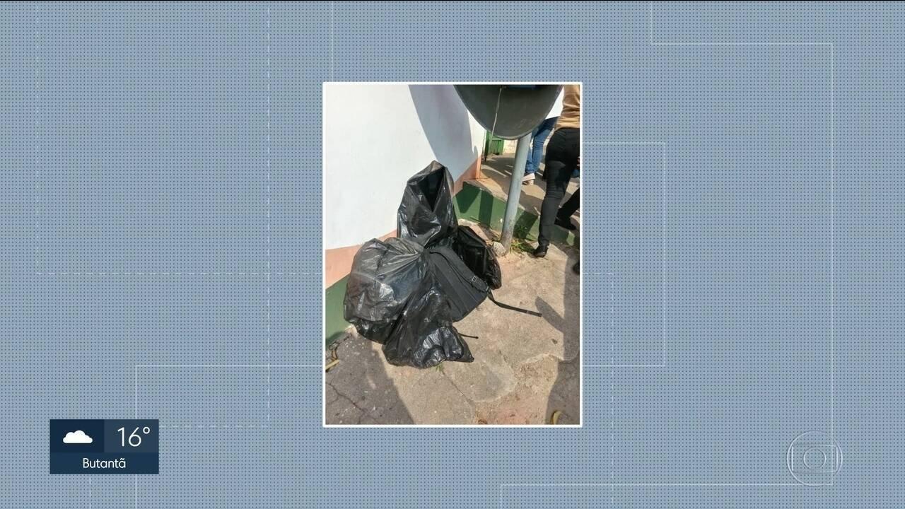 Ladrões devolvem material roubado de creche em Osasco