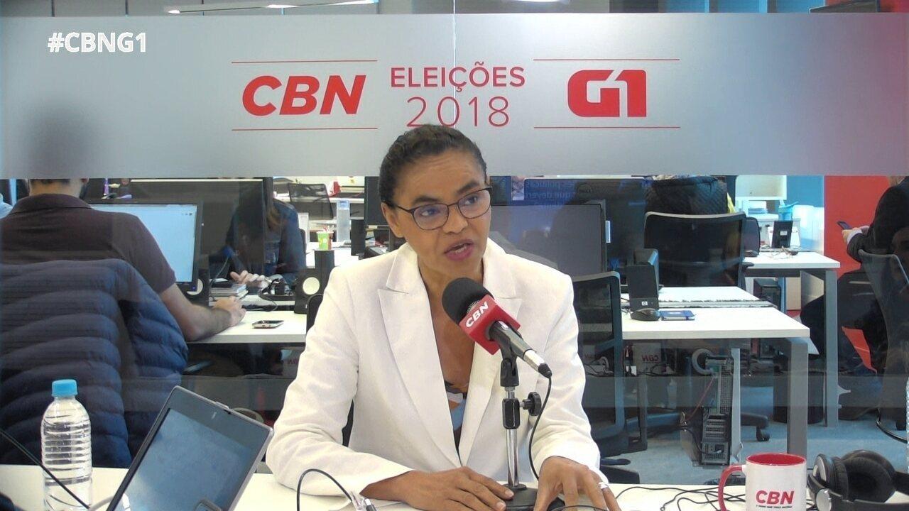 Marina Silva responde a perguntas sobre o Monitor da Violência