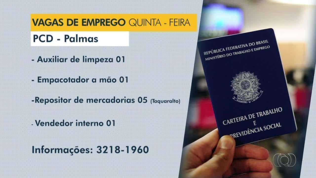 Confira as vagas de emprego para pessoas com deficiência em Palmas, Araguaína e Paraíso