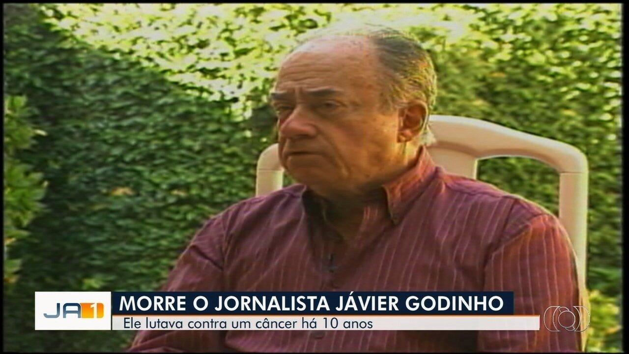 Jornalista Javier Godinho morre aos 82 anos, em Goiânia