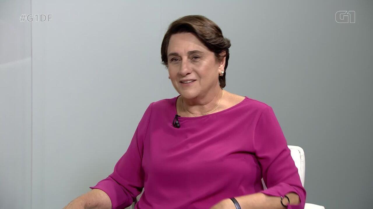 G1 entrevista a candidata ao governo do DF Eliana Pedrosa, do Pros - Bloco 1
