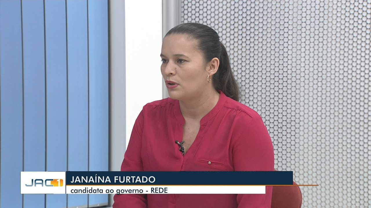 Ao JAC 1, Janaina Furtado, da Rede, defende o agronegócio e promete doar lotes a famílias