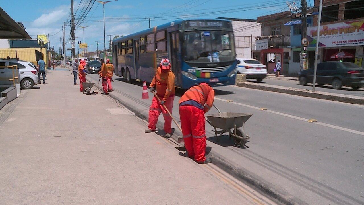 Começam obras de manutenção da Avenida Presidente Kennedy, em Olinda