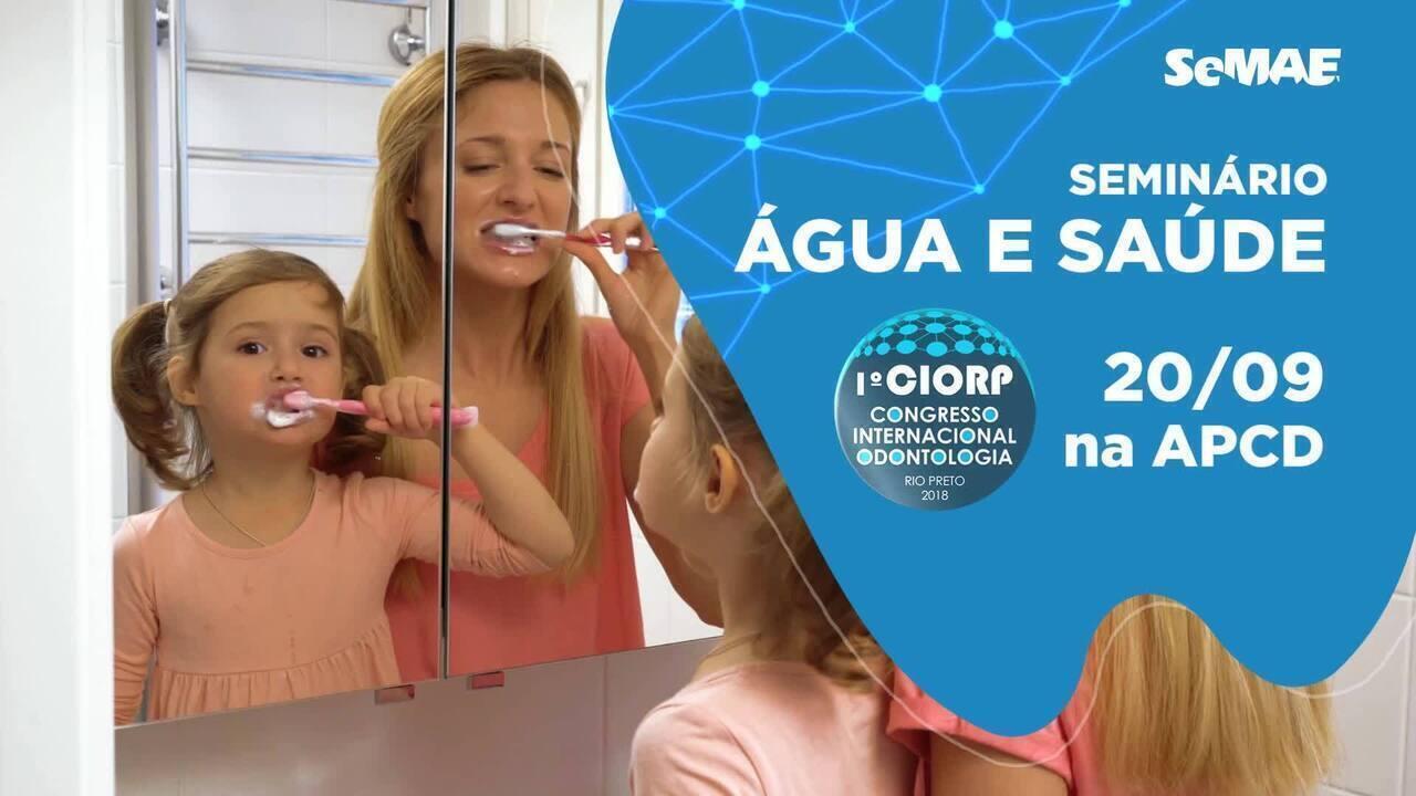 SeMAE realiza seminário em congresso internacional de odontologia