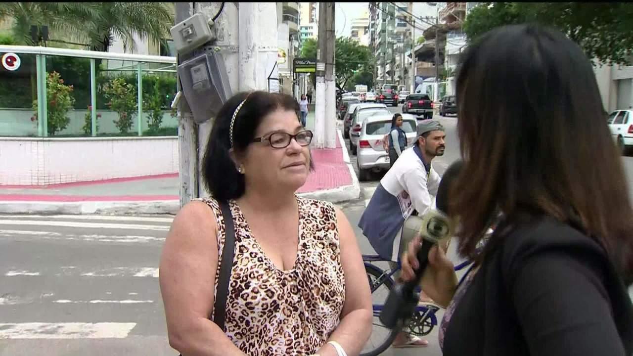 Doméstica fala sobre o barulho do bueiro em Vila Velha