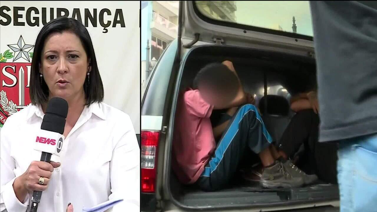 Operação policial prende 1.653 pessoas em São Paulo