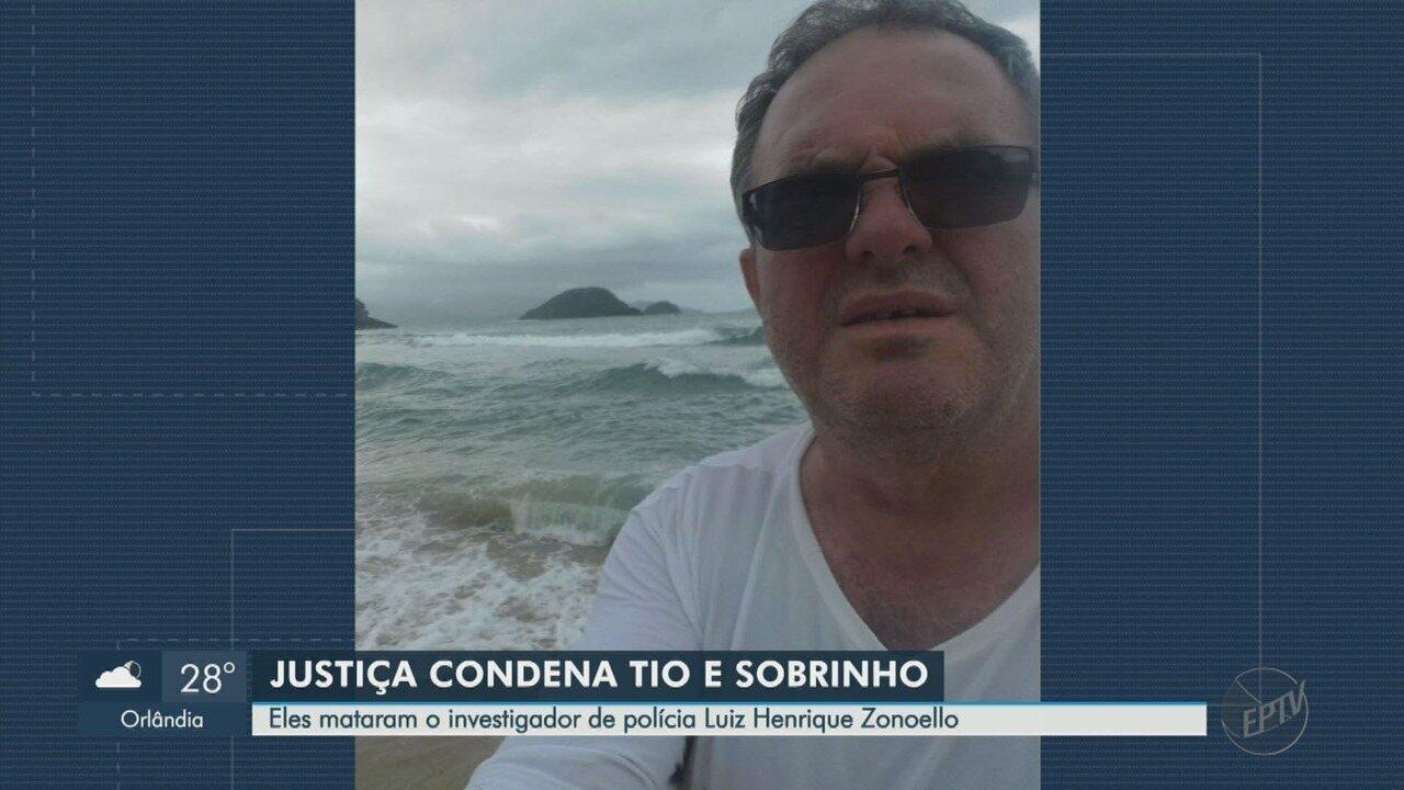 Tio e sobrinho são condenados a 27 anos de prisão por morte de investigador em Batatais