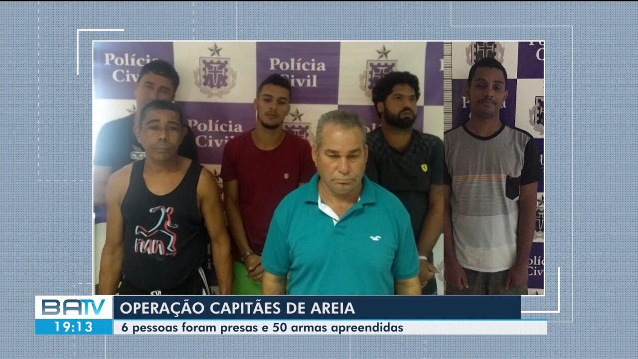 Polícia prende suspeitos de tráfico de drogas e venda ilegal de armas em Feira de Santana
