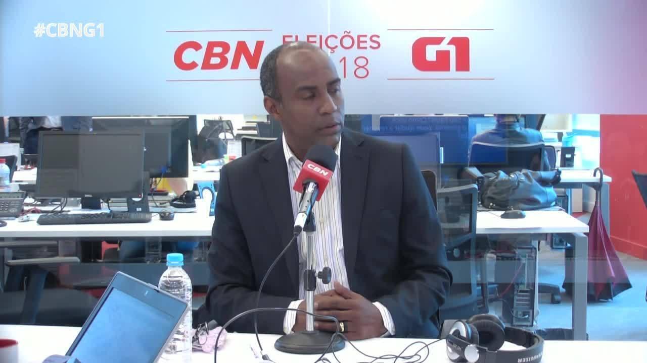Marcelo Candido é entrevistado pelo G1 e pela CBN