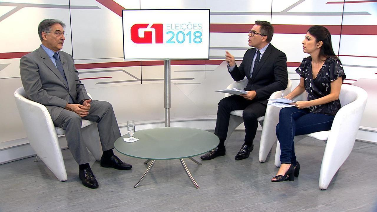 G1 entrevista Fernando Pimentel, candidato ao governo de Minas Gerais pelo PT