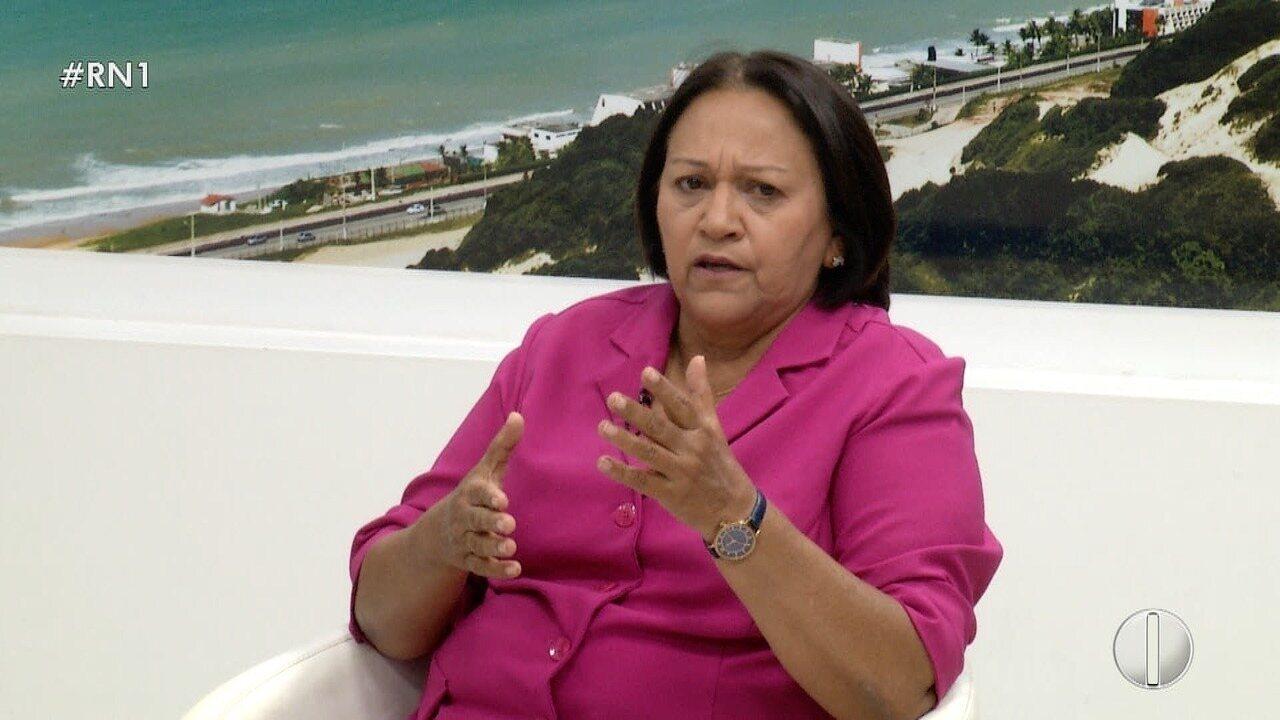 EDITORIAL: Fátima Bezerra, ao invés de simplesmente falar e ...