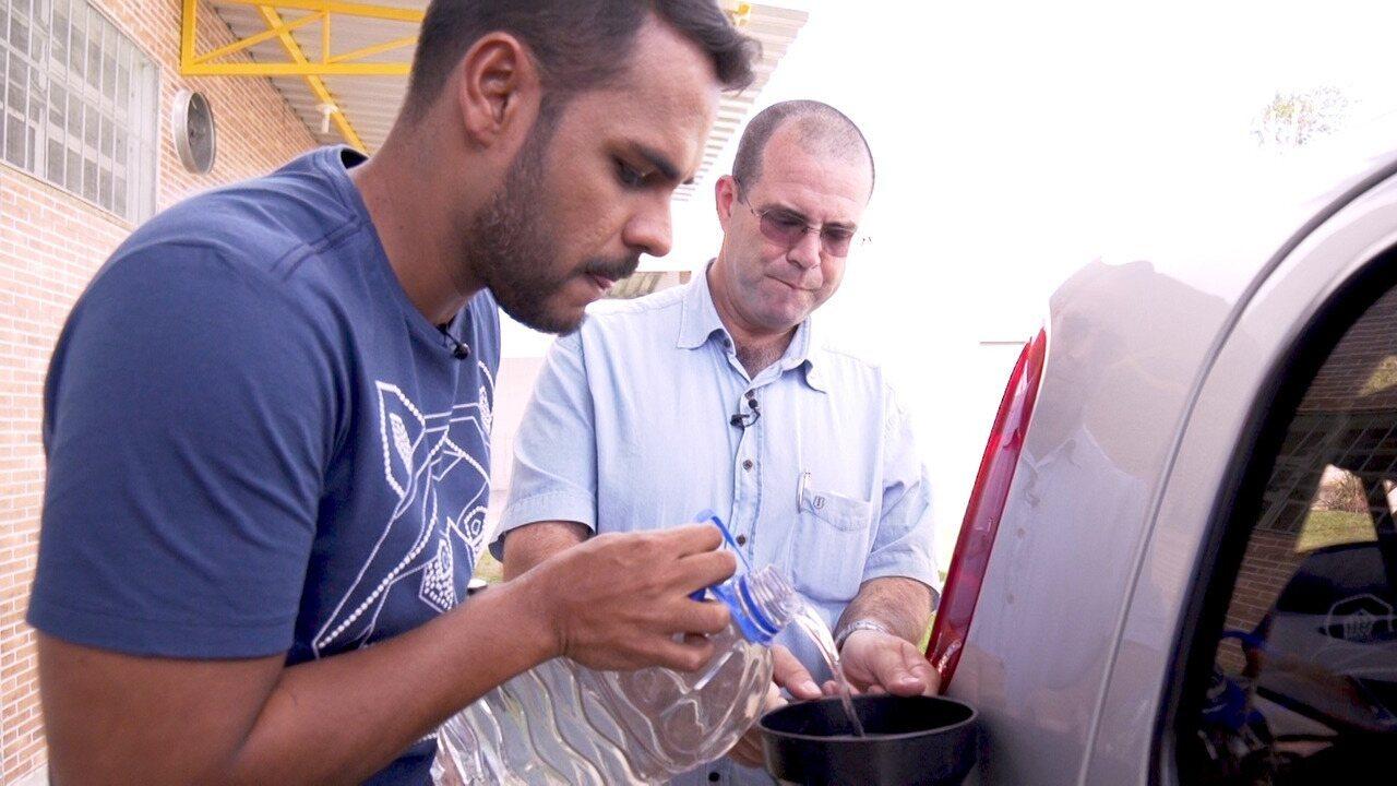 Pablo Vasconcelos conhece um apicultor que transforma mel em combustível para carro