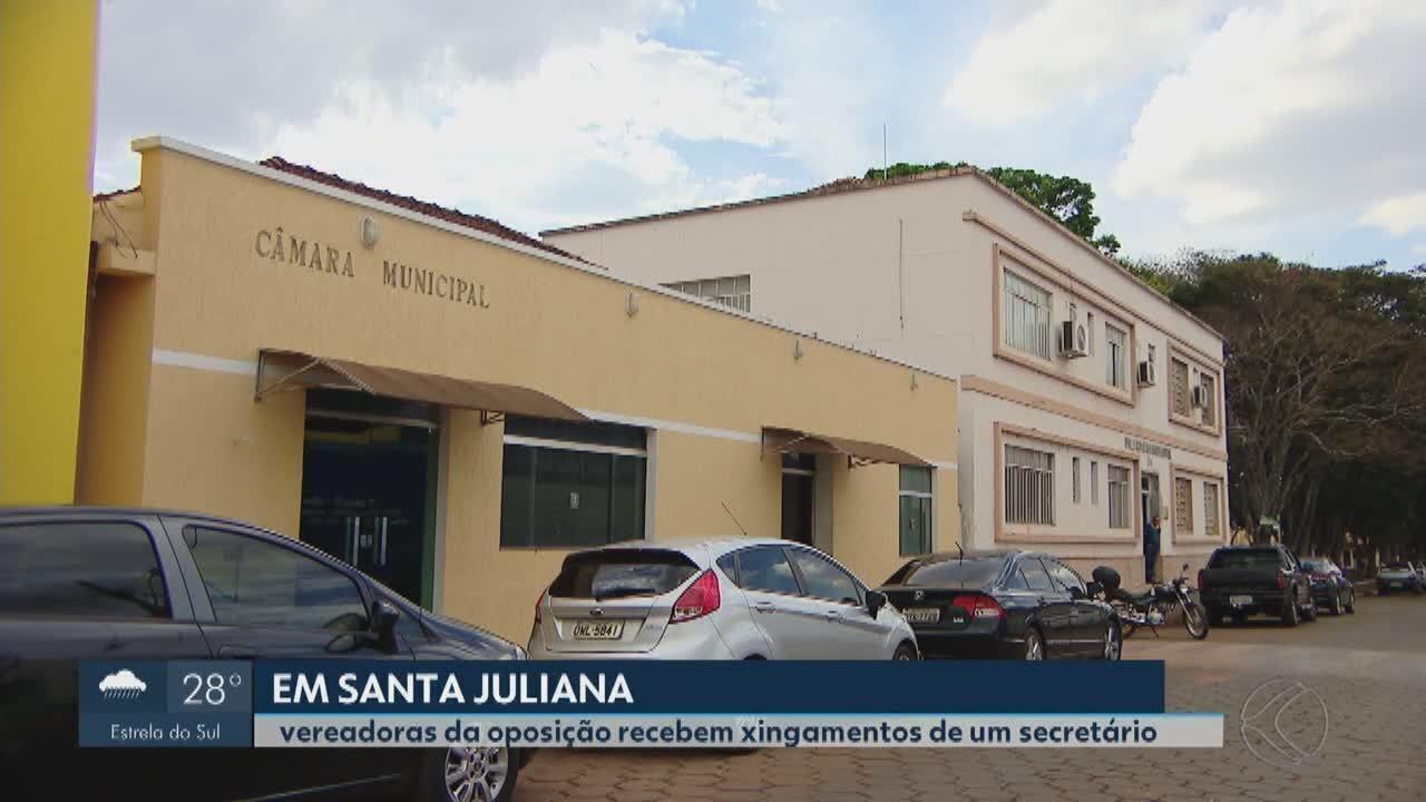 Vereadoras de Santa Juliana denunciam secretário municipal por possíveis ofensas