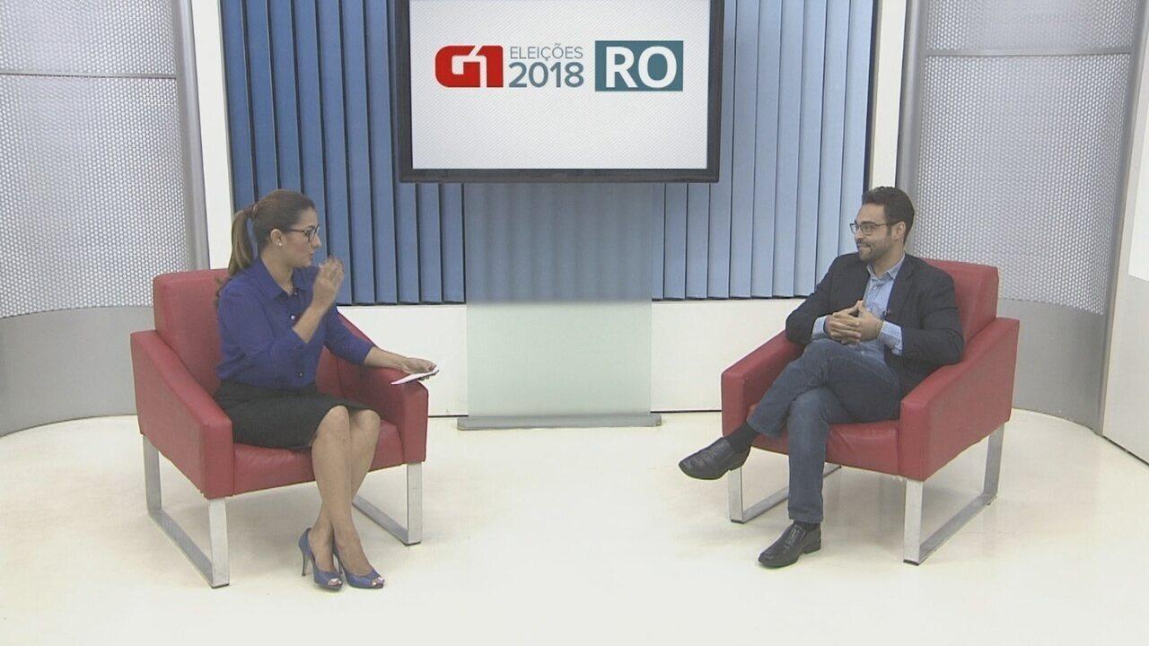 Vinícius Miguel é entrevistado pelo G1 Rondônia
