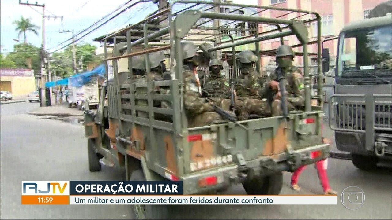 Mais de 1.850 agentes das Forças Armadas ocupam o Alemão, a Maré e o Jacarezinho