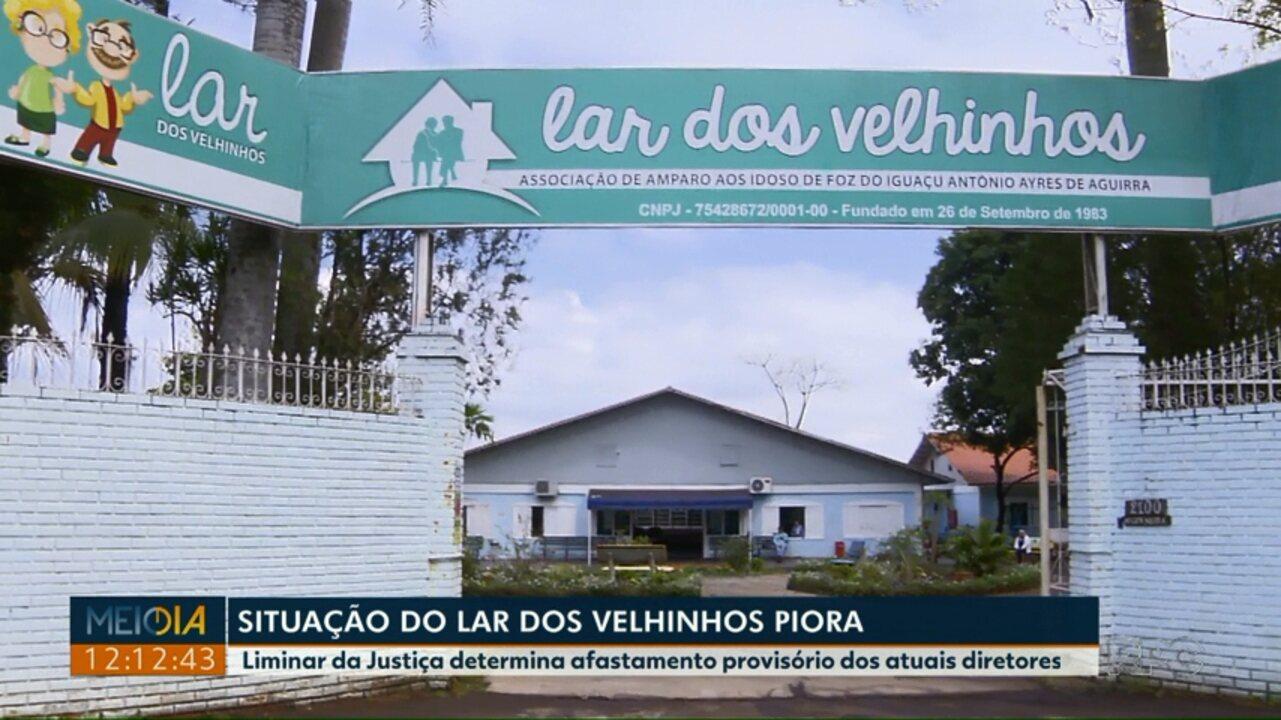 Justiça determina afastamento provisório da diretoria do Lar dos Velhinhos de Foz