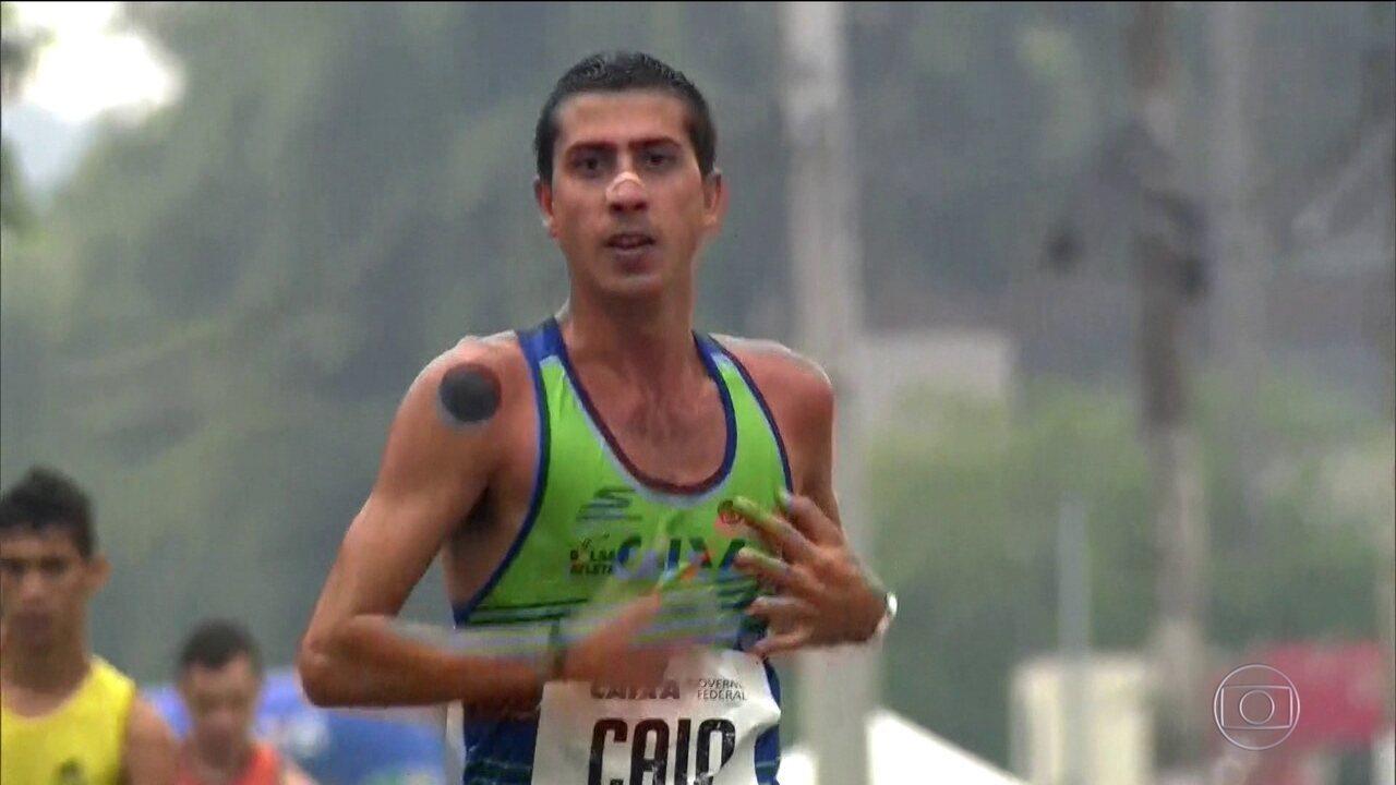 Caio Bonfim cumpre suspensão por dopping e volta vencendo Troféu Brasil de Marcha Atlética