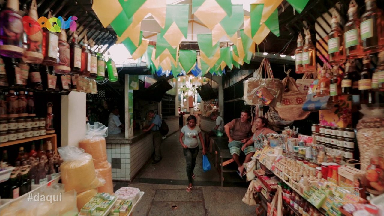 Daqui mostra história do Mercado das Tulhas em São Luís
