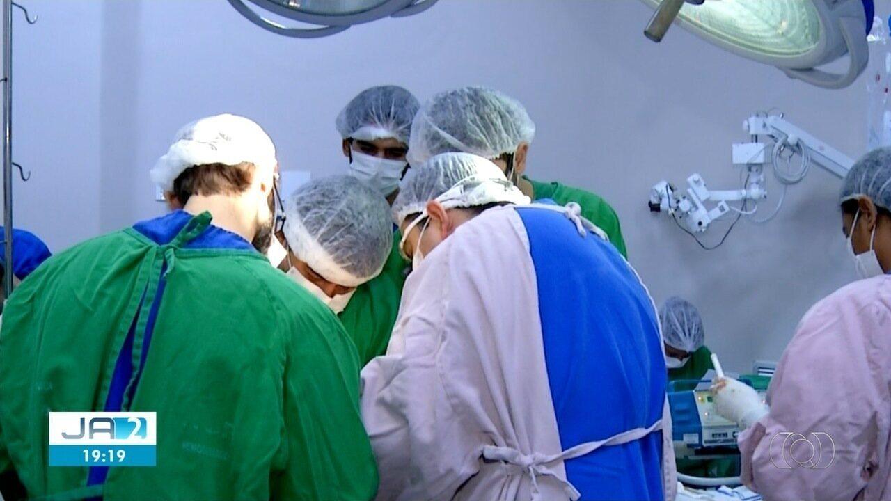 Médicos fazem a maior captação de órgãos da história do Tocantins no HGP