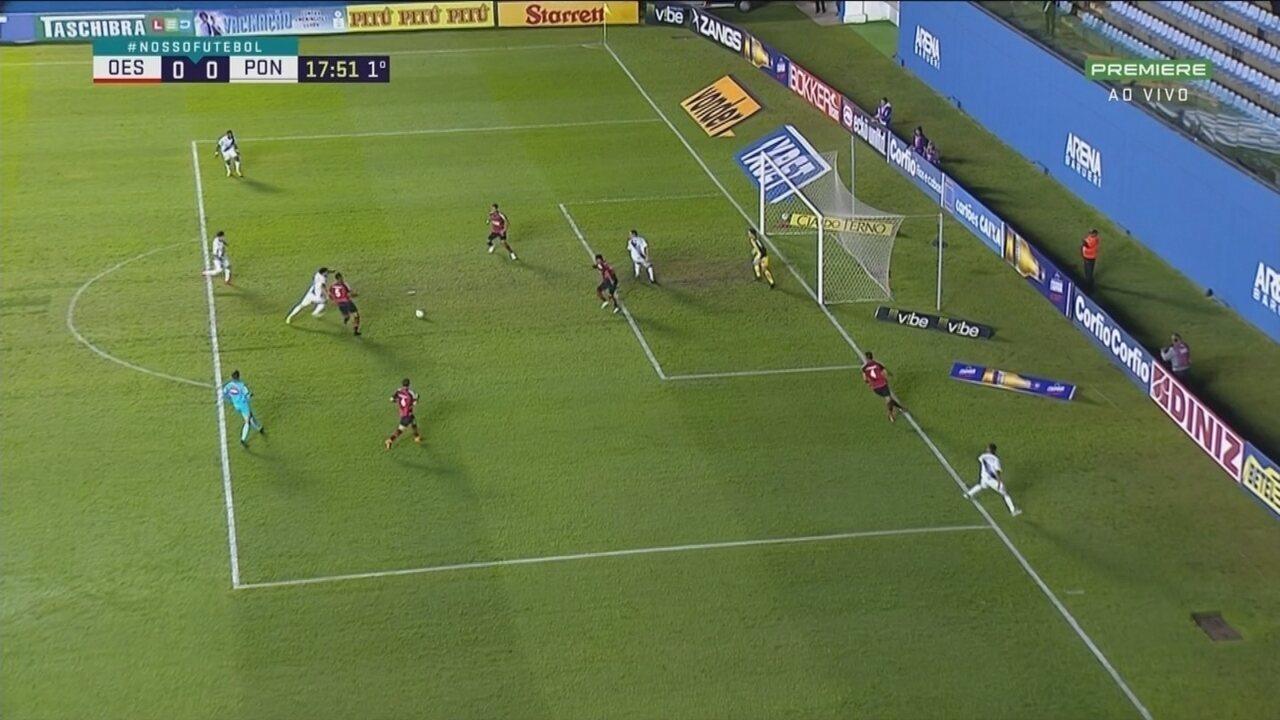 Melhores momentos de Oeste 0 x 0 Ponte Preta, pela Série B do Brasileirão