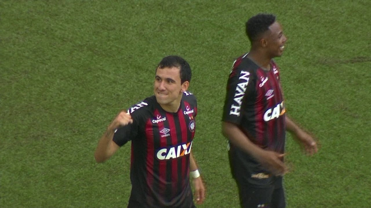 Os gols de Atlético-PR 3 x 1 Fluminense pela 25ª rodada do Campeonato Brasileiro