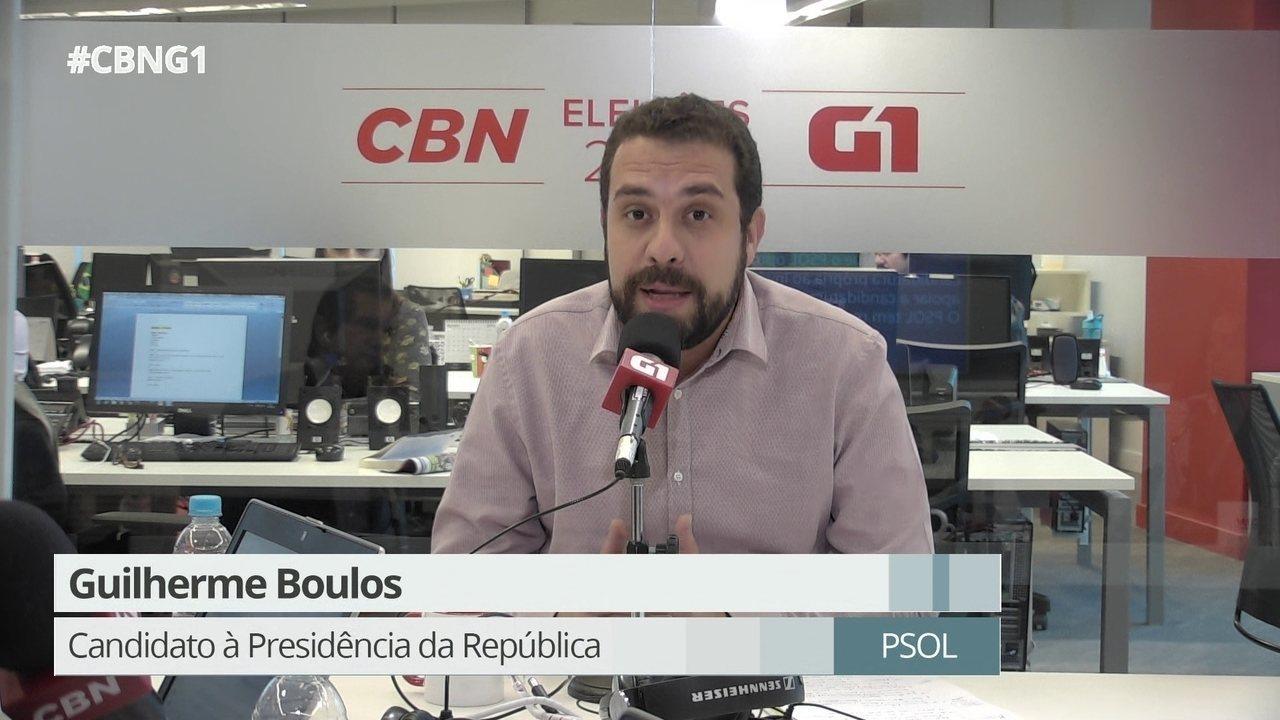 Parte 1: Guilherme Boulos fala sobre endividamento dos Estados e tributação