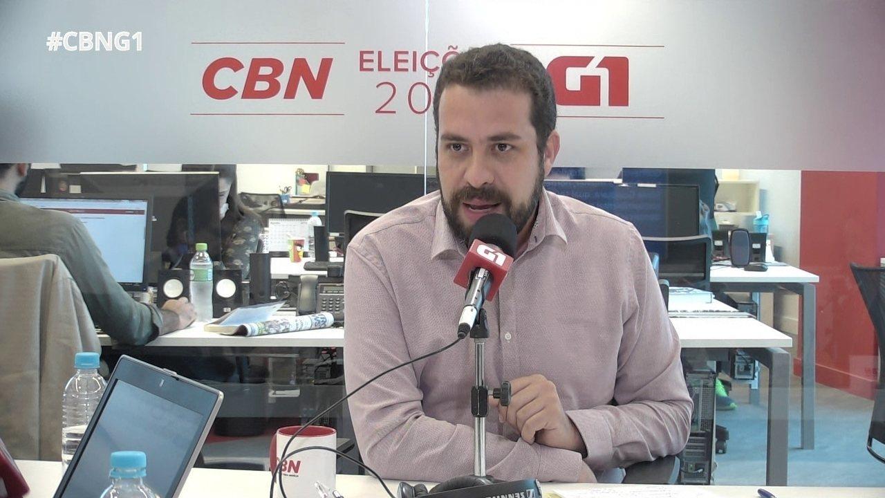 Parte 3: Guilherme Boulos fala sobre reforma tributária, apoio do Congresso e voto útil