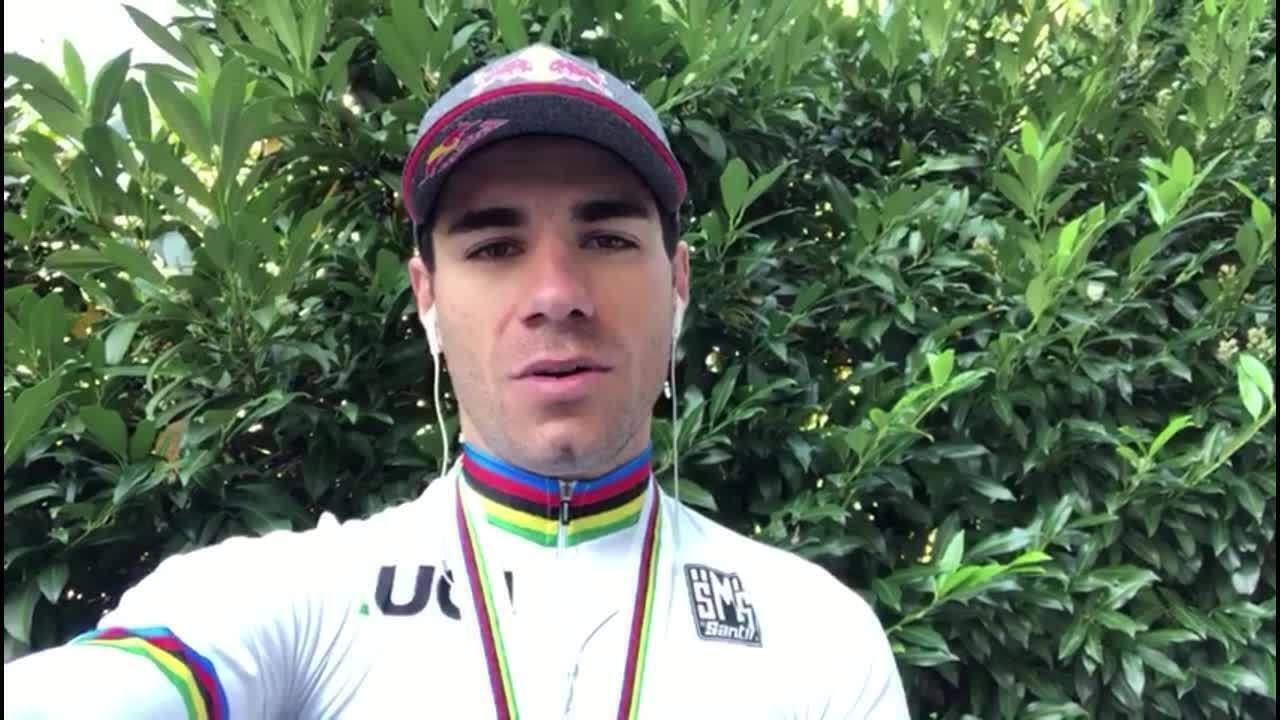 Brasileiro Henrique Avancini é campeão mundial de ciclismo MTB na Itália