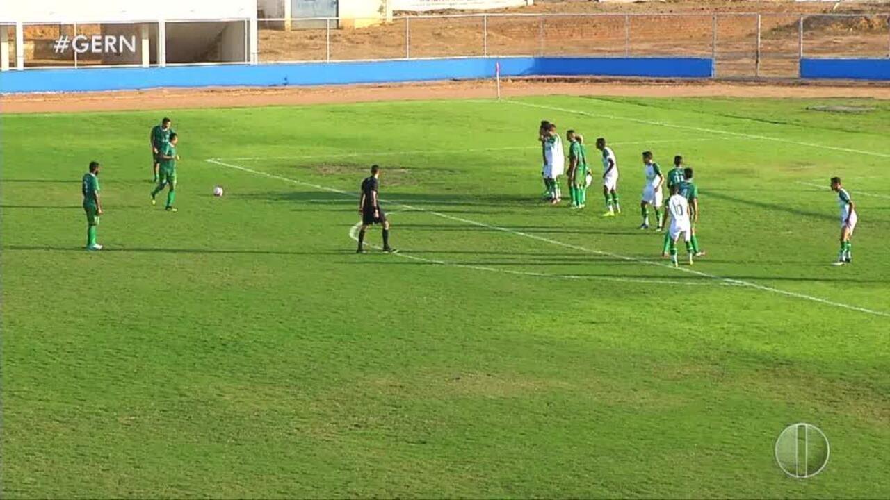 Alecrim derrota Palmeira-RN pela 2ª divisão do estadual