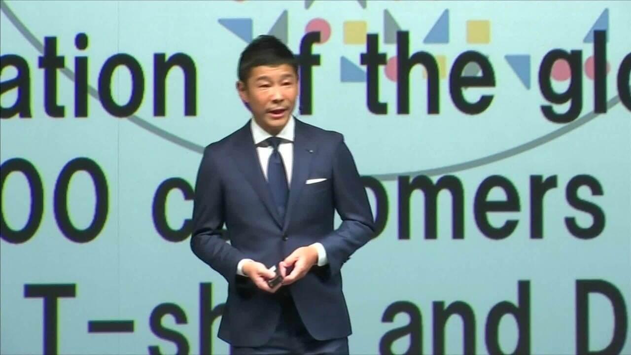Empresário japonês será primeiro turista a dar a volta na Lua em 2024