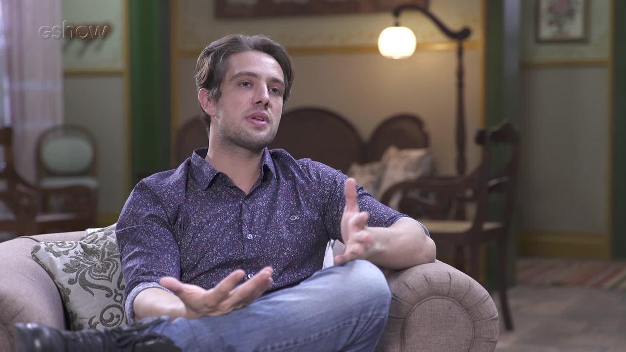 Rafael Cardoso fala sobre 'Espelho da Vida'