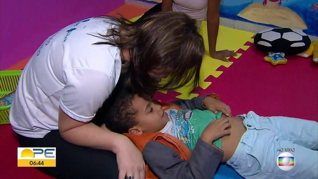 Mutirão gratuito oferece diagnóstico para crianças com autismo no Recife