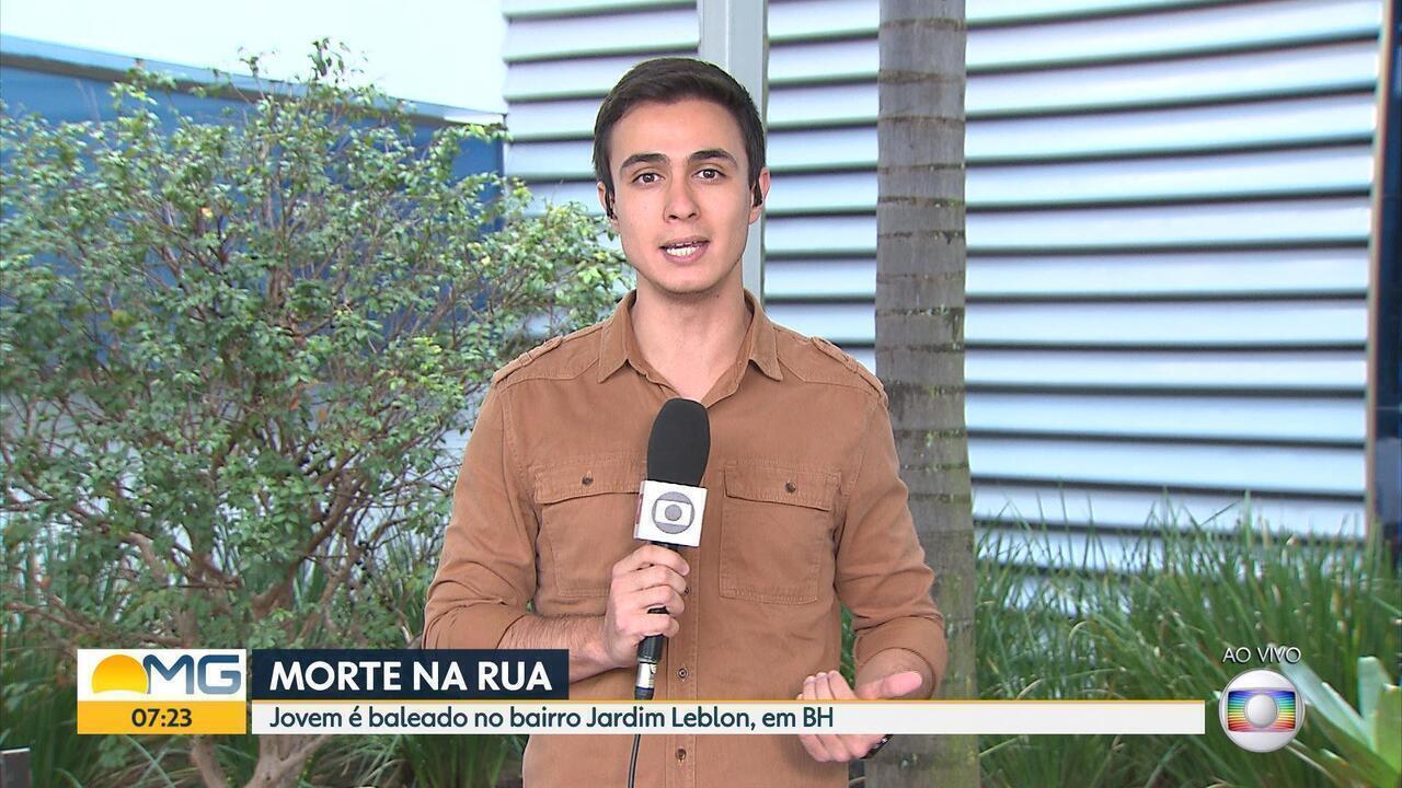 Jovem é baleado e morre no bairro Jardim Leblon, em BH