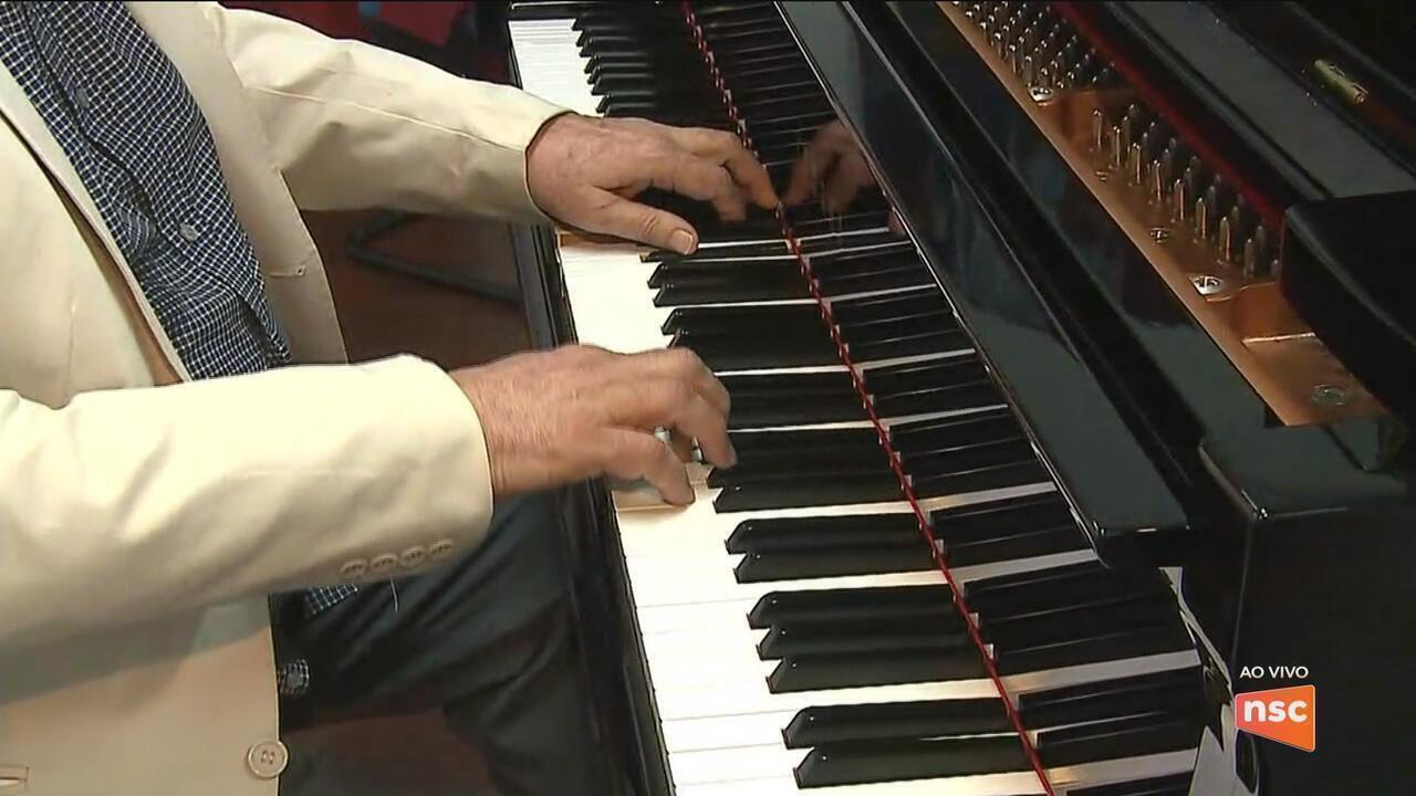 1º Pianíssimo de Joinville começa nesta quarta-feira (19)