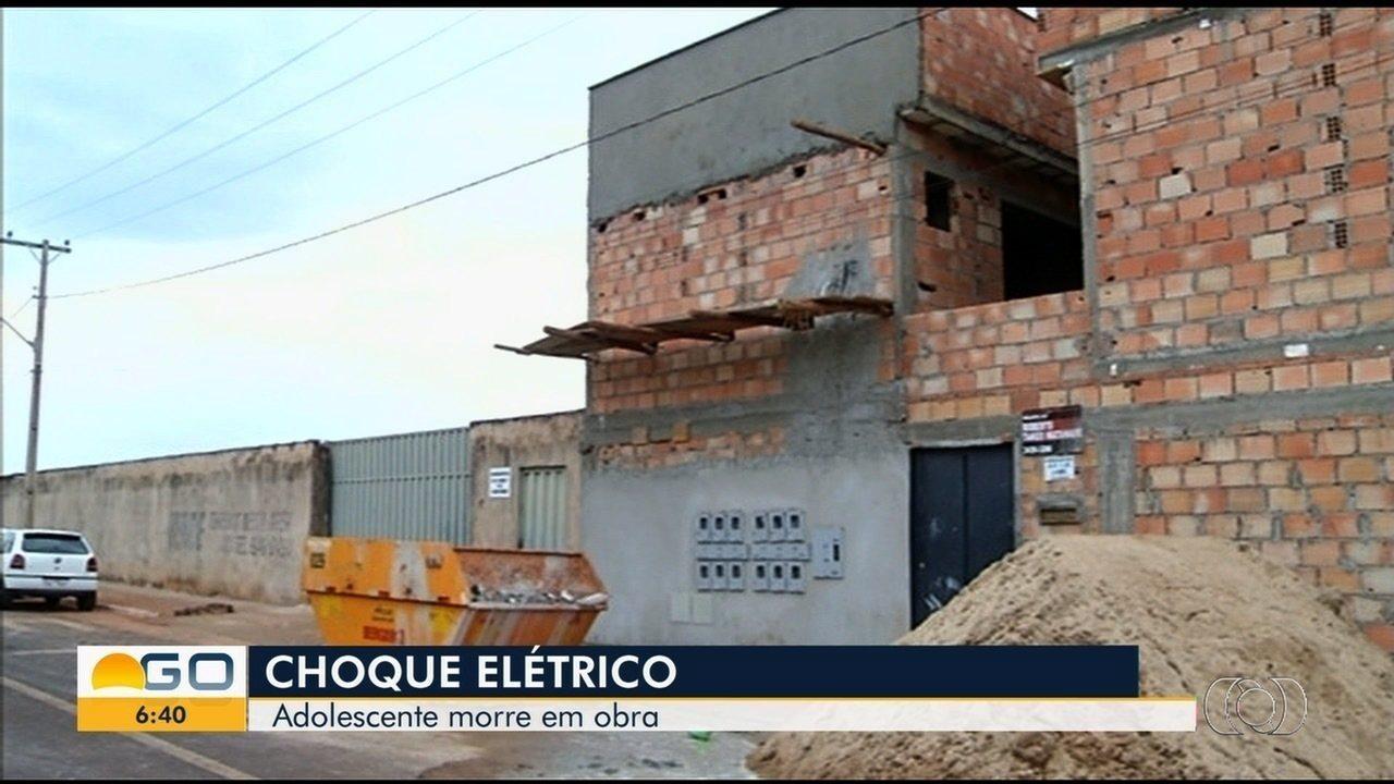 Adolescente de 16 anos morre após receber descarga elétrica em Itumbiara