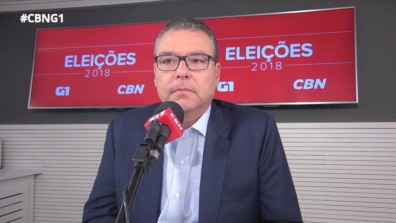 Marcelo Trindade (NOVO) é entrevistado pelo G1 e pela CBN