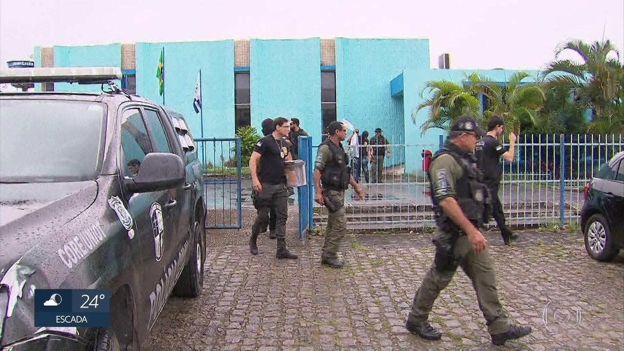 Polícia investiga esquema de desvio de verbas na Câmara do Cabo de Santo Agostinho