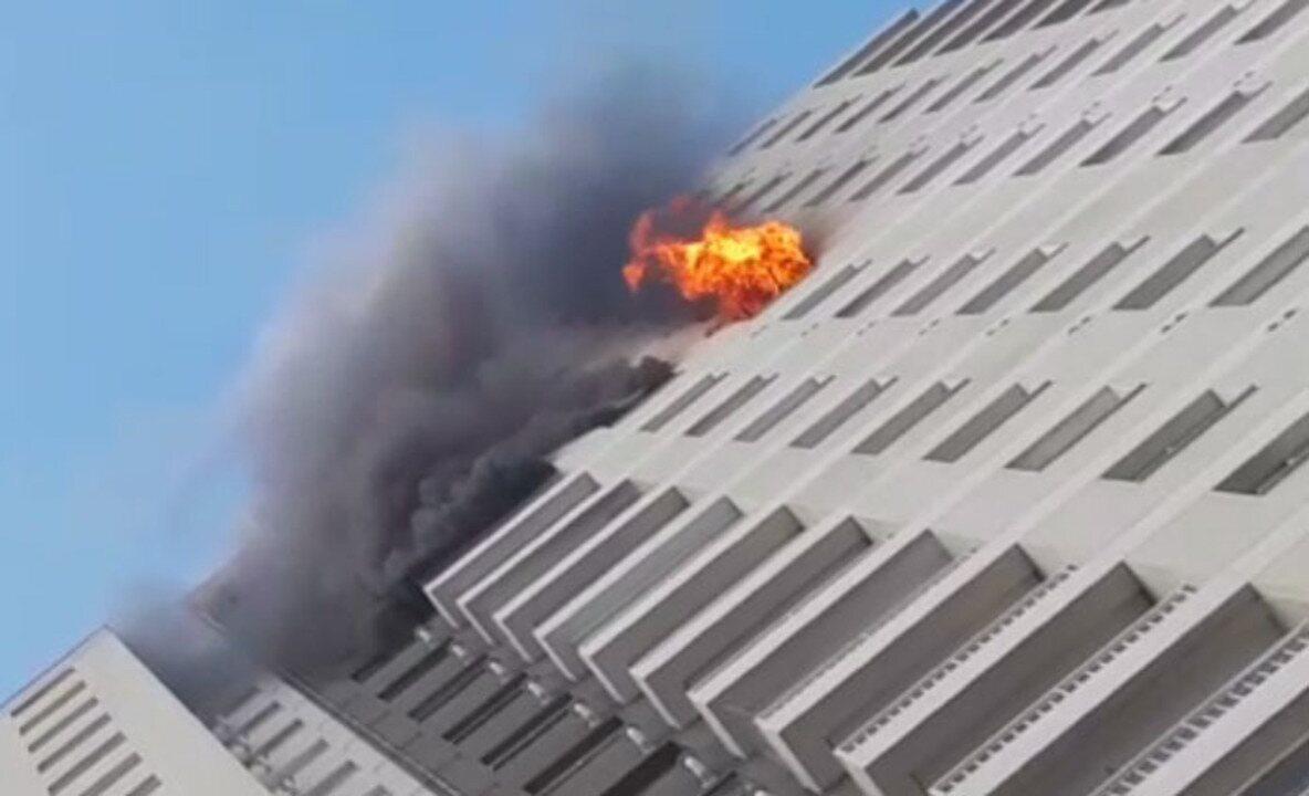 Incêndio destrói apartamento no Bom Retiro