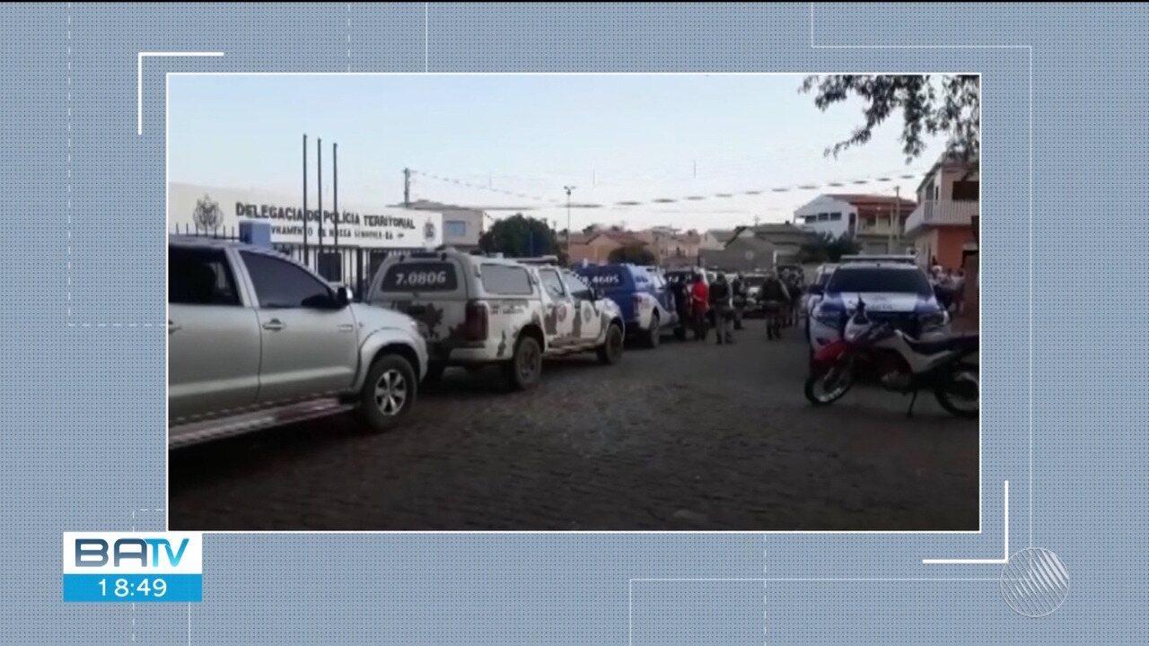 Polícia recupera parte do dinheiro roubado em assalto a carro-forte no sudoeste do estado