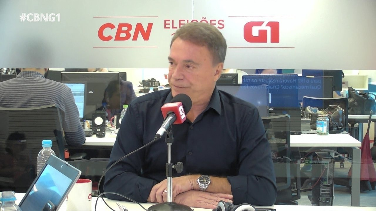 Alvaro Dias responde a perguntas do 'pinga-fogo'
