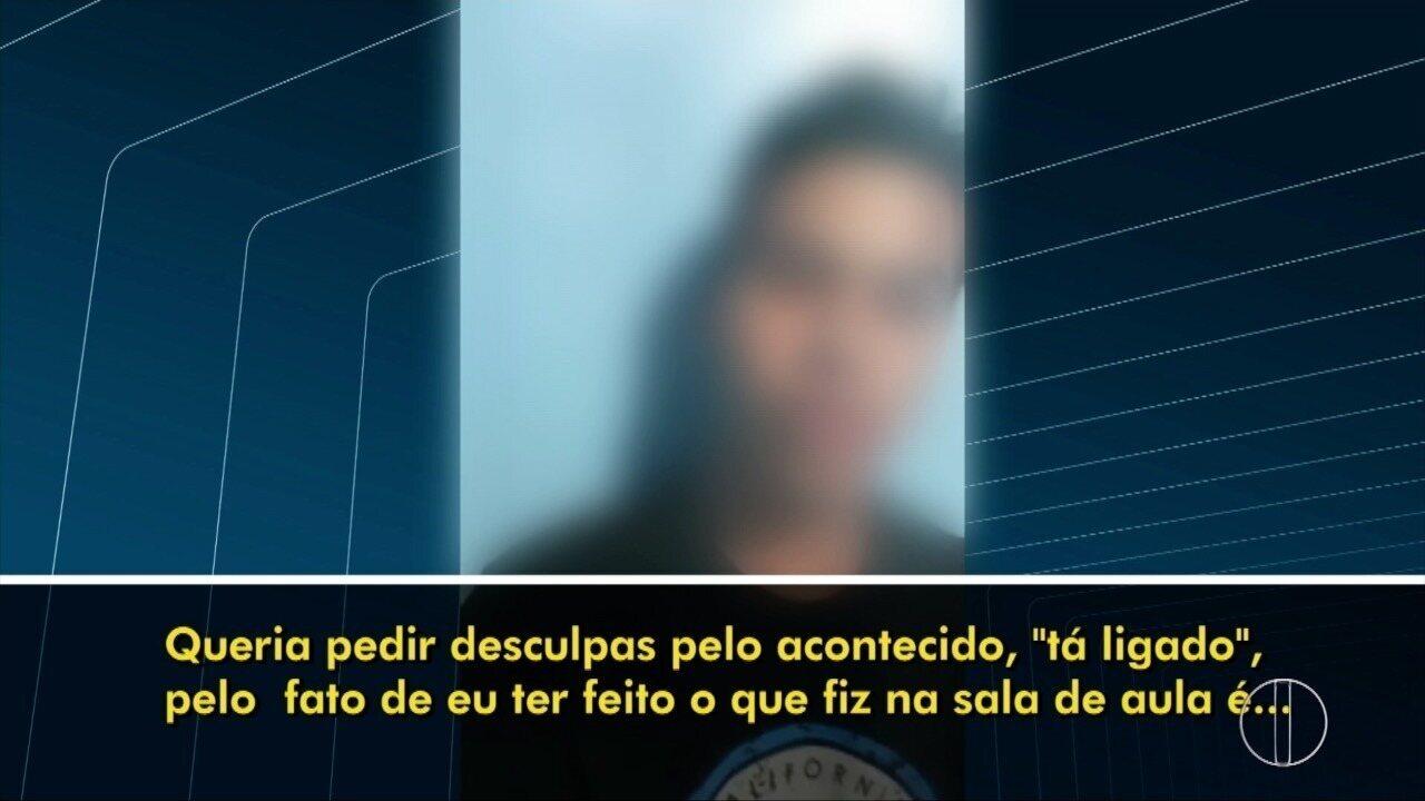 Alunos pedem desculpas após humilharem professor em sala de aula em Rio das Ostras, no RJ