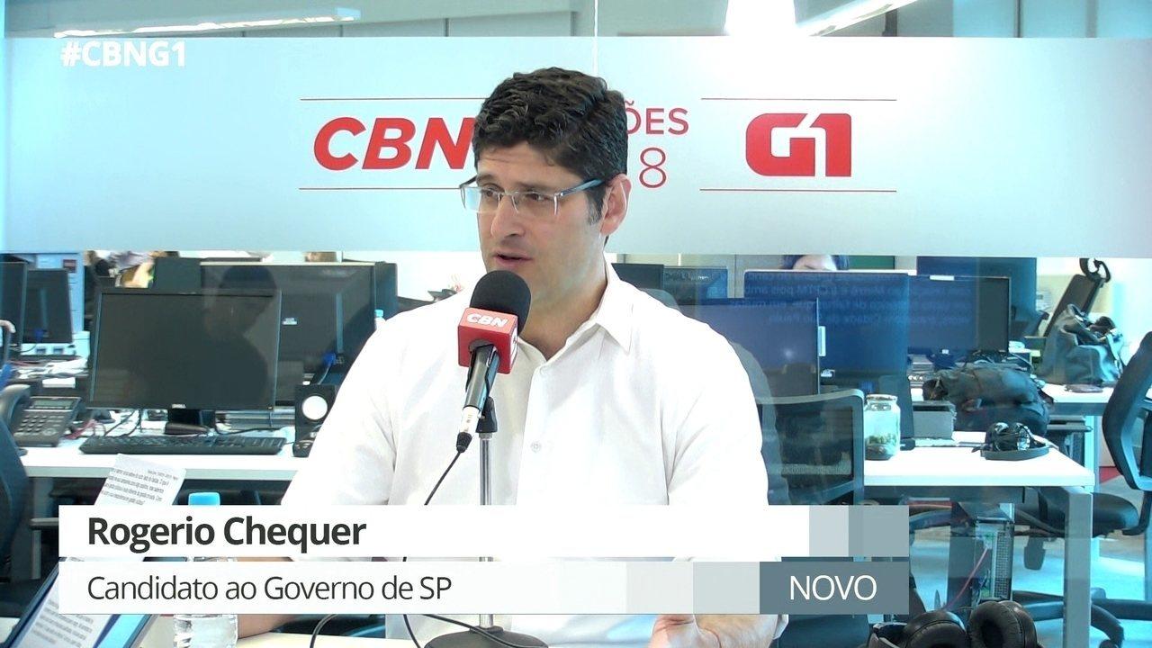 Parte 1: Rogerio Chequer fala sobre experiência na política e privatizações em SP