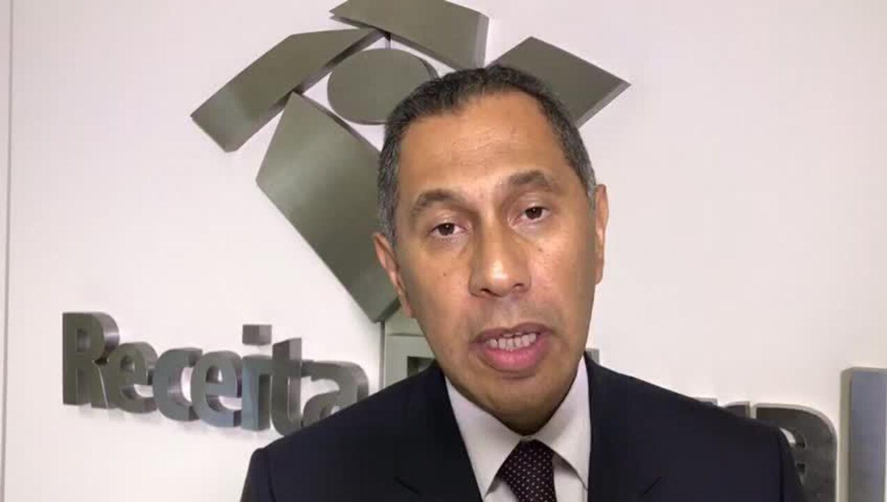 Chefe do Centro de Estudos Tributários e Aduaneiros da Receita Federal, Claudemir Malaquias, fala sobre a arrecadação