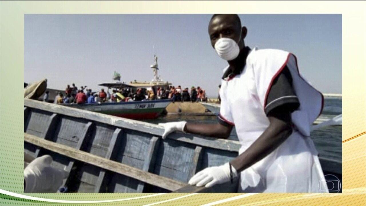Sobe para 136 o número de mortos no naufrágio de uma balsa, na Tanzânia