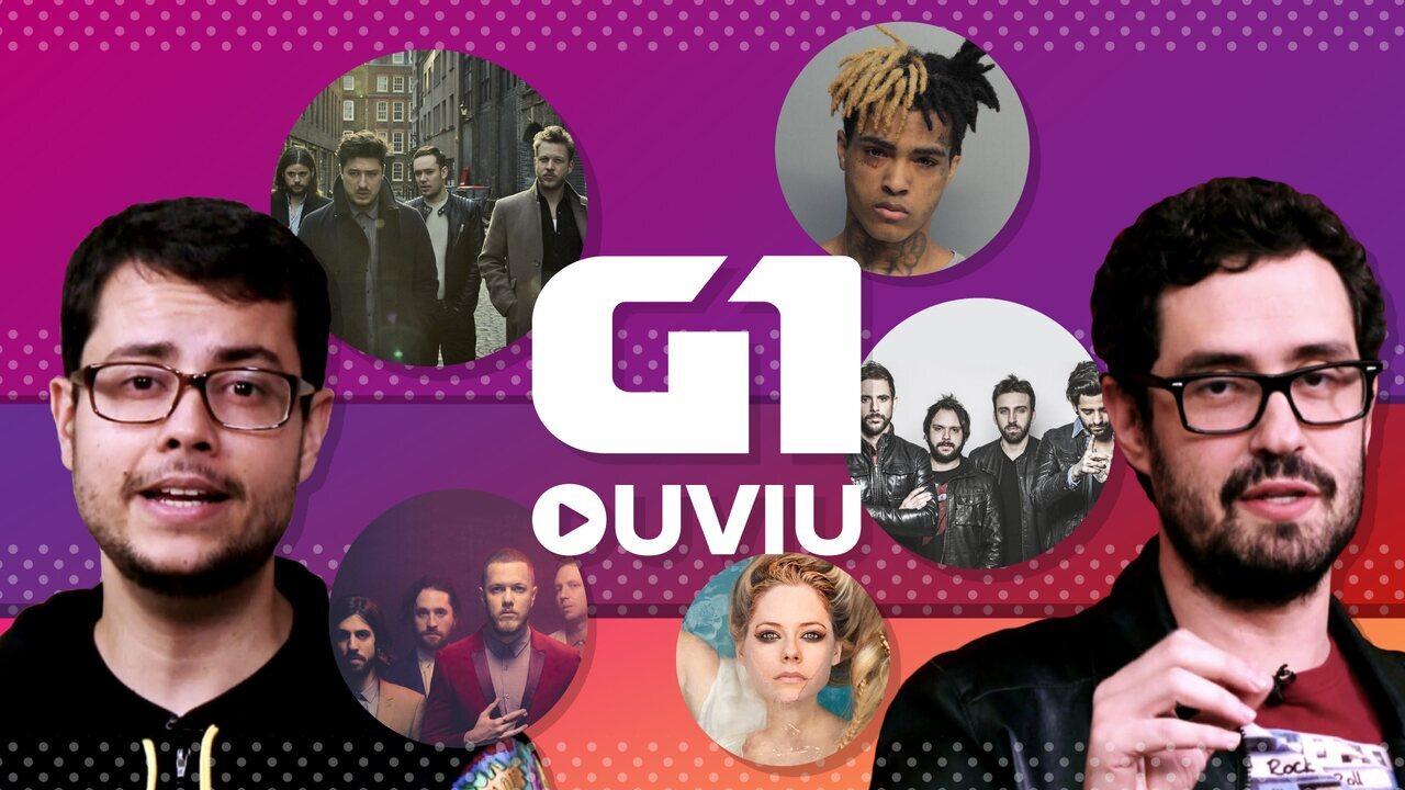 Avril Lavigne de volta, emo rap póstumo e Fresno com Caetano e Rashid estão no G1 ouviu