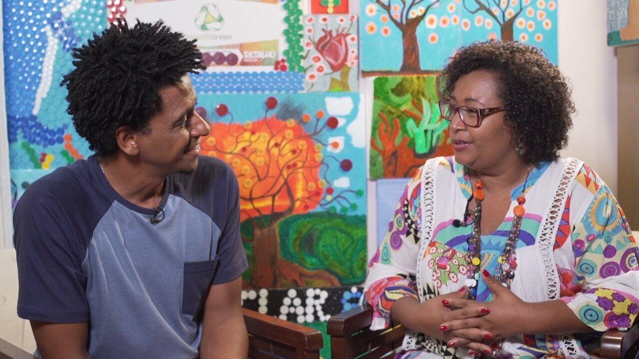 No 'Vumbora', Aldri Anunciação conhece as histórias de duas telespectadoras
