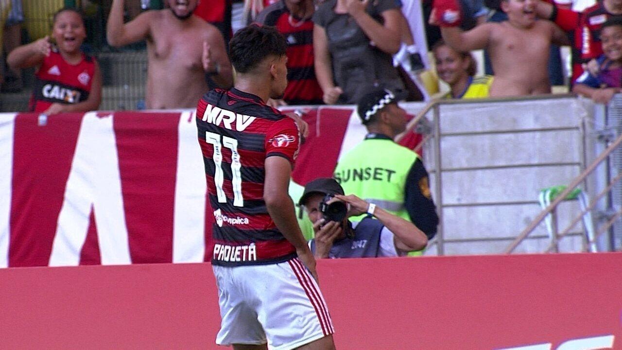 Melhores momentos de Flamengo 2 x 1 Atlético-MG pela 26ª rodada do Brasileirão