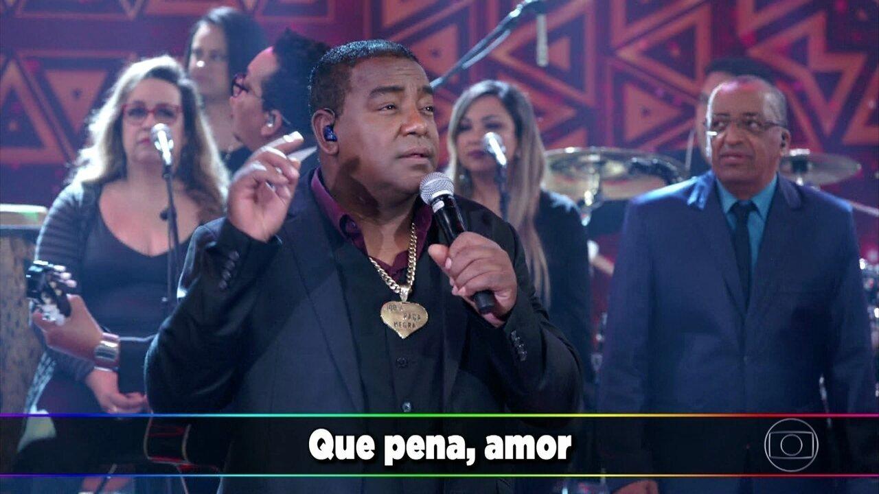 Raça Negra canta 'É Tarde Demais'