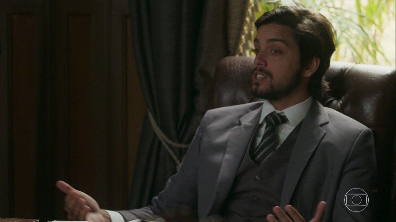 Ernesto se torna prefeito do Vale do Café